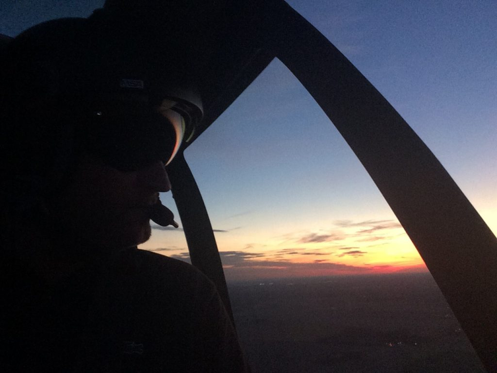 Initiation & école de pilotage - Vol de Nuit - Mont Blanc Hélicoptères Bordeaux