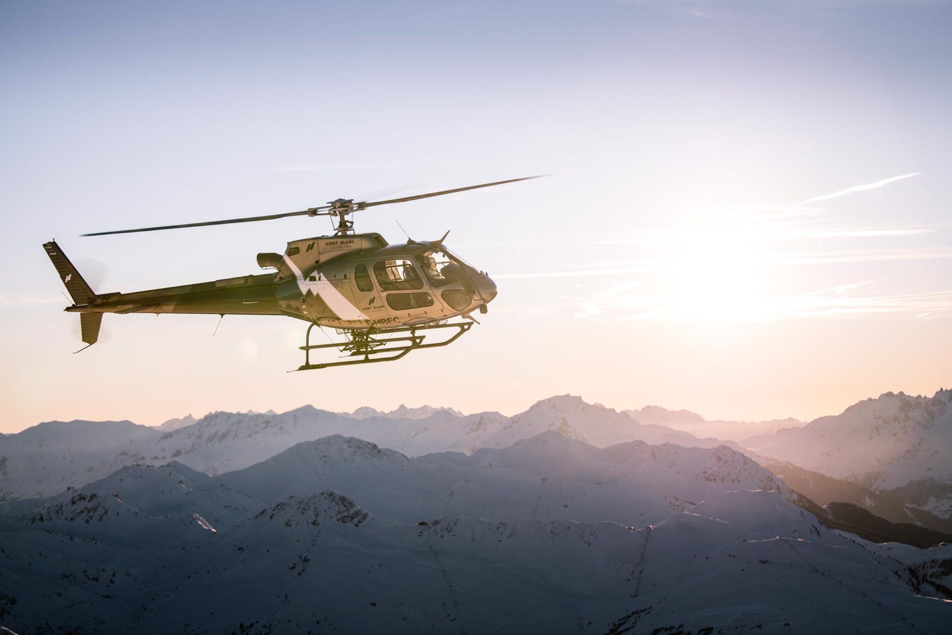 Vols Autres Bases   Mont Blanc Hélicoptères Paris