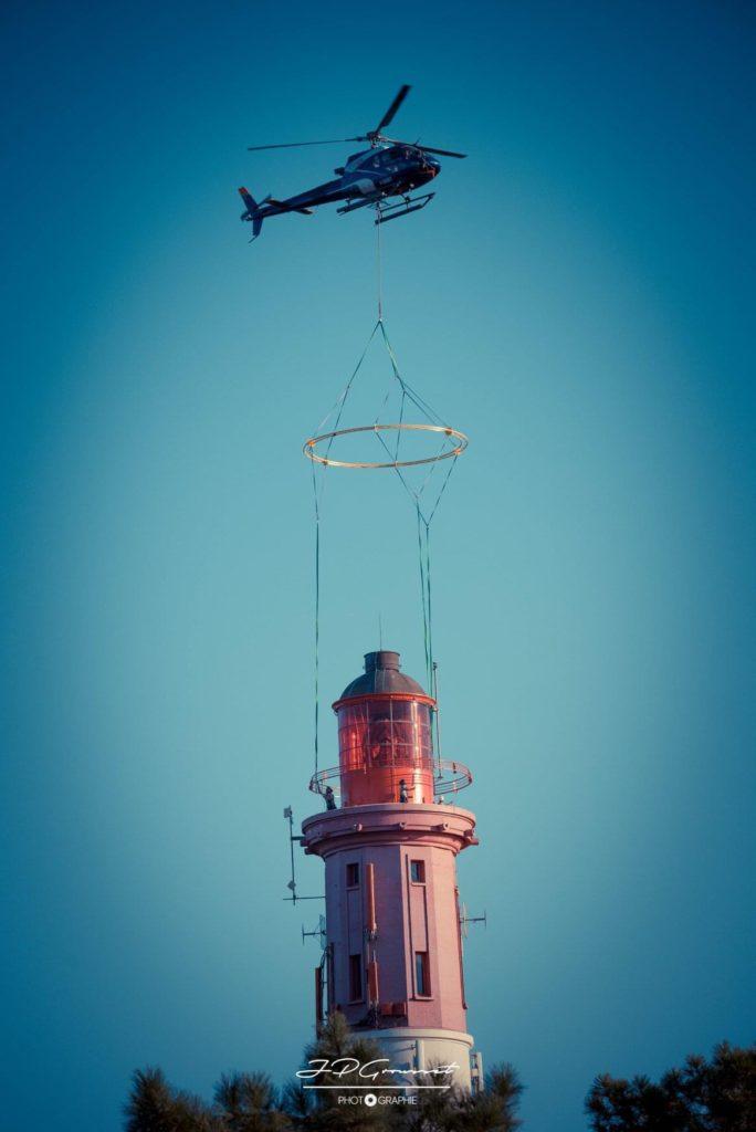 Travail aerien - Héliportage - Mont Blanc Hélicoptères Bordeaux