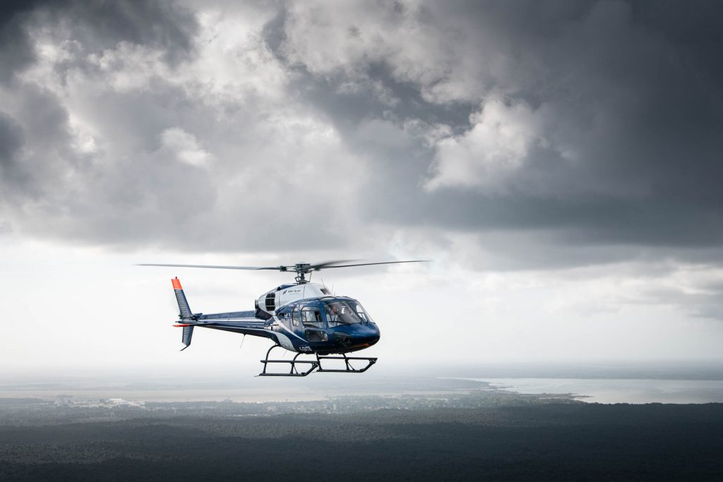 Hélicoptères - AS355N - Mont Blanc Hélicoptères Bordeaux