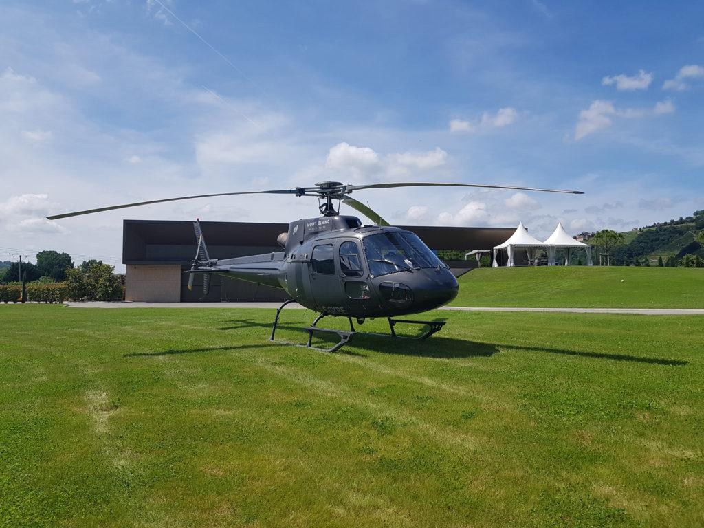 Hélicoptères - AS350 - Mont Blanc Hélicoptères Bordeaux