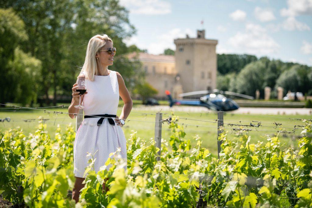 Vols Expériences - Excursions Dégustations Vin - Mont Blanc Hélicoptères Bordeaux
