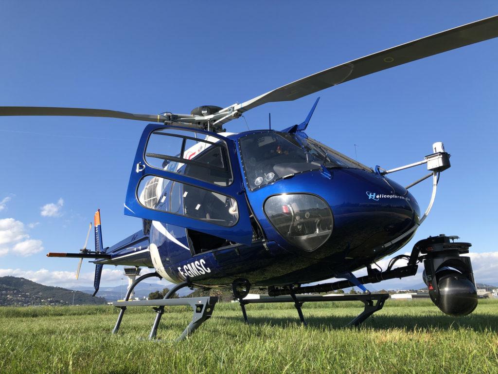 Travail aerien - Prise de vue aerienne - Mont Blanc Hélicoptères Bordeaux