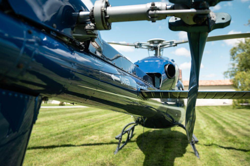 Tourist flights - Flight over vineyards & St Emilion - Mont Blanc Hélicoptères Bordeaux
