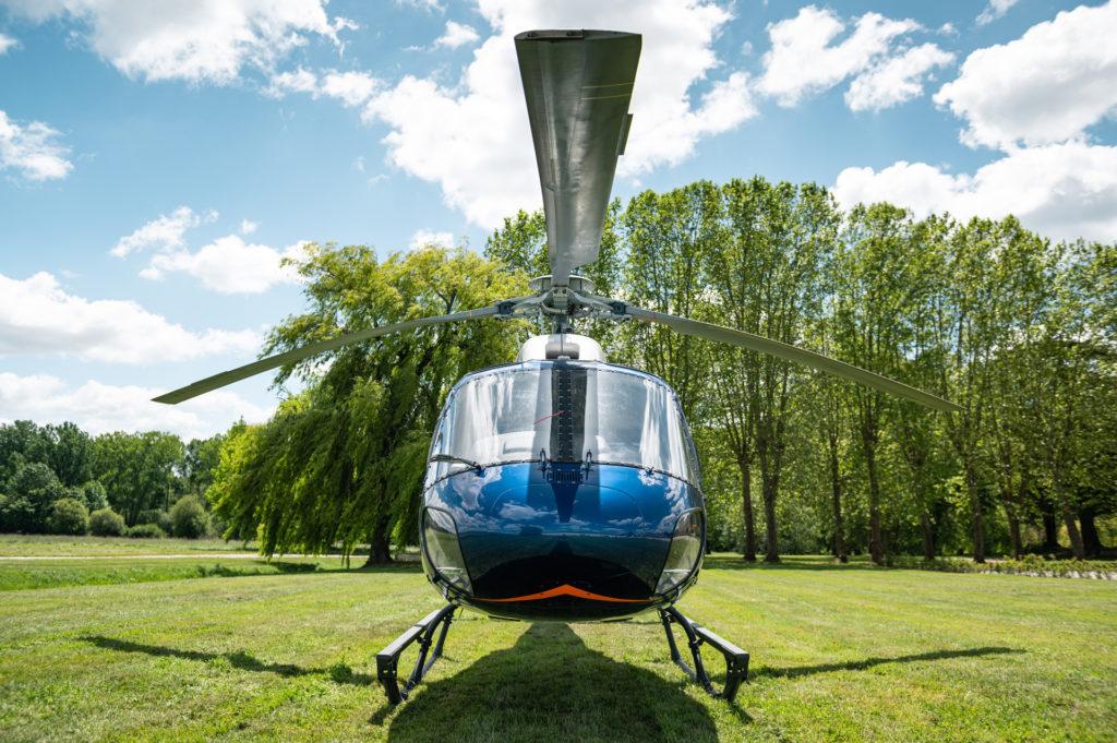 Tourist flights - Flight over vineyards & Sauterne - Mont Blanc Hélicoptères Bordeaux